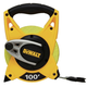 Dewalt DWHT34028 100 ft. Fiberglass Open Reel Long Tape
