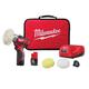 Milwaukee 2438-22 M12 Cordless Lithium-Ion Variable Speed Polisher/Sander Kit