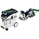 Festool P48574422 Domino XL Joiner with CT 48 E 12.7 Gallon HEPA Mobile Dust Extractor