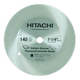 Hitachi 725216B50 7-1/4 in. 140-Tooth Hollow Ground Plywood/Laminate Saw Blade (50-Pack)