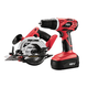 Factory Reconditioned Skil 2860-10-RT 18V Cordless 3/8 in. Drill Driver and SKILSAW Combo Kit