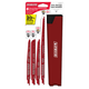 Diablo DS006S 6-Piece Steel and Demo Demon Reciprocating Saw Blade Set