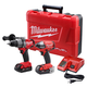 Milwaukee 2791-22CT M18 FUEL 18V Cordless Lithium-Ion 1/2 in. Drill Driver and Impact Driver Combo Kit