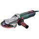 Metabo 613083420 Quick 13.5 Amp 6 in. Flat Head Grinder with Lock-On Switch