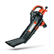 Worx WG509 TRIVAC 12 Amp 3-In-1 Variable-Speed Mulcher Blower Vacuum