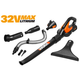 Worx WG575.1 WORXAIR 32V Max Cordless Lithium-Ion Sweeper Kit
