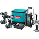 Makita CT400RW 18V LXT 2.0 Ah Cordless Lithium-Ion 4-Tool Combo Kit