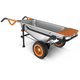 Worx WG050 AeroCart 8-in-1 All-Purpose Yard Cart