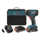 Factory Reconditioned Bosch 25618-02-RT 18V Cordless Lithium-Ion 1/4 in. Impact Driver with SlimPack Batteries