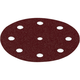 Festool 499101 5 In. P40-Grit Rubin 2 Abrasive Sheet 10-Pack