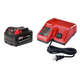 Milwaukee 48-59-1813 M18 18V REDLITHIUM XC 3.0 Ah Lithium-Ion Battery with Multi-Voltage Charger System