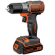 Factory Reconditioned Black & Decker BDCDE120CR 20V MAX Cordless Lithium-Ion 3/8 in. Drill Driver with Autosense Technology