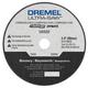 Dremel US520-01 3-1/2 in. Masonry Cutting Wheel