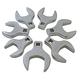 Sunex Tools 9740 7-Piece 1/2 in. Drive Metric Jumbo Straight Crowfoot Wrench Set