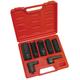 ATD 5663 Oxygen Sensor and Sending Unit Socket Set 7-Piece