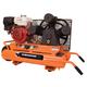 Industrial Air CTA9090980.ES 9 HP 9 Gallon Twin Tank Wheelbarrow Air Compressor with Electric Start