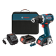 Bosch DDS182-02 18V Cordless Lithium-Ion 1/2 in. Brushless Compact Tough Drill Driver Kit