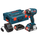 Bosch IDH182-02L 18V Cordless Lithium-Ion Brushless Socket Ready Impact Driver Kit with L-BOXX 2 Case