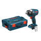 Bosch IWBH182BL 18V Cordless Lithium-Ion 1/2 in. Pin Detent Brushless Impact Wrench (Bare Tool) with L-BOXX 2 Case & ExactFit Insert Tray