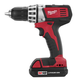 Milwaukee 2601-22 M18 18V Cordless Lithium-Ion Compact Driver/Drill