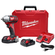 Milwaukee 2658-22CT M18 18V Cordless Lithium-Ion 3/8 in. Impact Wrench Kit with Friction Ring