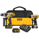 Factory Reconditioned Dewalt DCK295L3R 20V MAX Cordless Lithium-Ion Drill Driver and 12V MAX Screwdriver Combo Kit