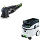 Festool PAC571782 Rotex 5 in. Multi-Mode Sander with CT 36 AC 9.5 Gallon Mobile Dust Extractor