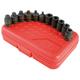 Sunex 3841 11-Piece 3/8 in. Drive Pipe Plug Impact Socket Set