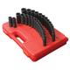 Sunex Tools 5153DD 29-Piece 1/2 in. Drive SAE/Metric Master Double Deep Impact Socket Set