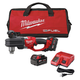 Milwaukee 2708-22 M18 FUEL 18V Cordless Lithium-Ion HOLE HAWG Right Angle Drill with QUIK-LOK Kit
