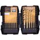 Bostitch BSA1S14TM 14-Piece Titanium Speed Tip Drill Bit Set
