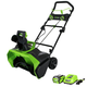 Greenworks 26272 40V G-MAX Li-Ion 20 in. Snow Thrower