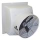 Schaefer F5 PFM2400-1A 24 in. Direct Drive Polyethylene Exhaust Fan with Aluminum Shutter