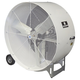 Versa-Kool VKM42-2-O 42 in. OSHA Compliant Spot Cooler 2-Speed Mobile Drum Fan