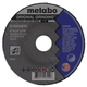 Metabo 616554000-500 Bundle Pack - 500 6 in. x 1/4 in. A24N Type 27 Depressed Center Grinding Wheels and a FREE WE14-150 6 in. Grinder