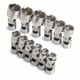 SK Hand Tool 1337 12-Piece 1/4 in. Drive 6-Point Metric Flex Socket Set