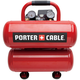 Factory Reconditioned Porter-Cable PCFP02040R 1.1 HP 4 Gallon Oil-Lube Twinstack Air Compressor