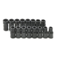 SK Hand Tool 756 16-Piece 1/4 in. Drive TurboDrive Combination Socket Set