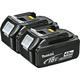Makita BL1840-2 18V LXT 4.0 Ah Lithium-Ion Battery 2-Pack