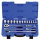 KT PRO A4503MR 19-Piece 1/2 in. Drive 6-Point Metric Standard Socket Set