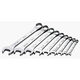 SK Hand Tool 86011 9-Piece 6 and 12 Point SAE Combination Wrench Set