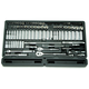 ATD 1380 106-Piece 1/4 in. and 3/8 in. Drive 6-Point SAE/Metric Chrome Master Socket Set