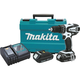 Makita XPH01CW 18V 1.5 Ah Cordless Lithium-Ion 1/2 in. Compact Hammer Drill Driver Kit