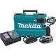 Makita XPH01CW 18V 1.5 Ah Cordless Lithium-Ion 1/2 in. Compact Hammer Drill Driver Kit