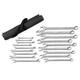 GearWrench 81920 18-Piece Long Pattern Combination Metric Non-Ratcheting Wrench Set