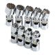 SK Hand Tool 4609 9-Piece 3/8 in. Drive 12-Point SAE Flex Socket Set