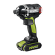 Rockwell RK2860K2 20V Max Cordless Lithium-Ion 1/4 in. Brushless Impact Driver Kit