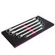 EZ Red WR5ML 5-Piece Extra-Long Locking Flex Head Wrench Set