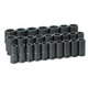 Grey Pneumatic 8026MD 26-Piece 3/4 in. Drive 6-Point Metric Deep Impact Socket Set