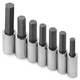 SK Hand Tool 41227 7-Piece 1/2 in. Drive SAE Hex Bit Socket Set